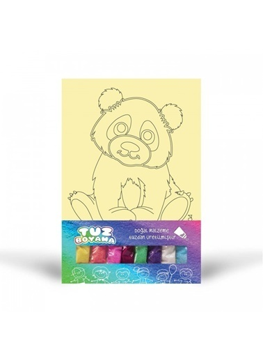 Artikel Panda-1 Tuz Boyama Renkli